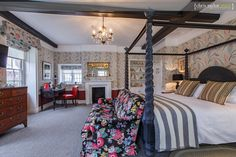 Simon Horn Mayfair four poster bed photographed by Chris Taylor in the brand new bedrooms at The Assembly House, Norwich.