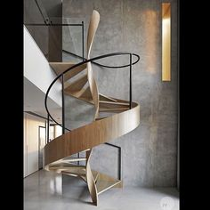 Work of art staircase