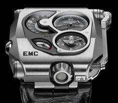 Urwerk EMC Watch: For Mobile Accuracy Tweaking