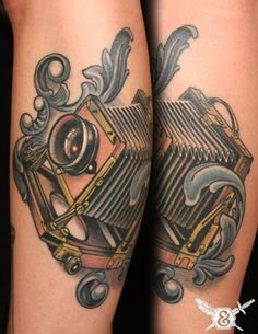 Find and save ideas about Classic vintage camera tattoo on Tattoos Book. More than FREE TATTOOS Great Tattoos, Beautiful Tattoos, Body Art Tattoos, Tatoos, Beautiful Body, Awesome Tattoos, Crazy Tattoos, Beautiful Things, Vintage Camera Tattoos