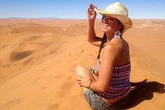 Up to Big Daddy in the Namib Desert