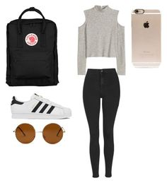 """""""Untitled #1"""" by noaandeden on Polyvore featuring Fjällräven, Topshop, adidas, Forever 21, Incase, women's clothing, women's fashion, women, female and woman"""