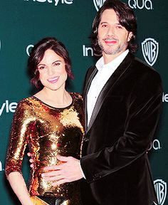 Lana & Fred (golden globes party).