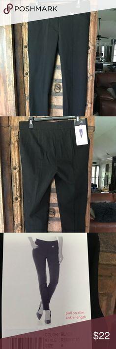 d7d73fec144b4 Shop Women s Rafaella Black size 8 Skinny at a discounted price at Poshmark.