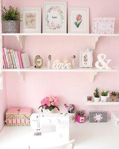 Craft room, hobi odası, home office, çalışma odası