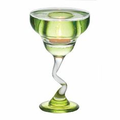 Transform any day into a festive occasion with our translucent solid fragrance filled margarita glass featuring a lush apple scent.  Lasts a...