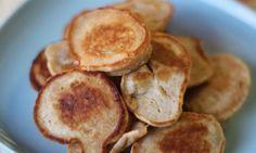 Baby banana pancakes