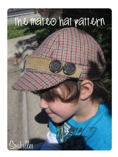 4ee6059bf16 Items similar to Sewing pattern - fleece winter hat for boys - The Mateo Hat  on Etsy
