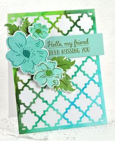 Been Missing You Card by Dawn McVey for Papertrey Ink (May 2016)