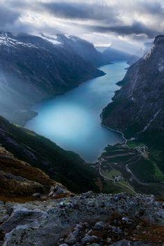 Eikesdalsvatnet, Norway