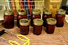 Canning 101: Jam, the old fashioned way!   No pectin added
