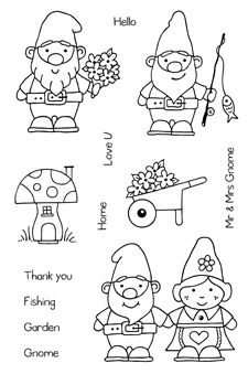 gnome stamps