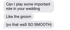 One where you can be smooth with each other: