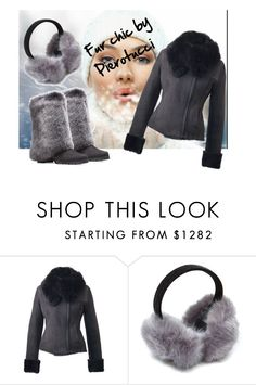 """Fur chic by Pierotucci"" by gasheeva on Polyvore featuring furcoat and Pierotucci"