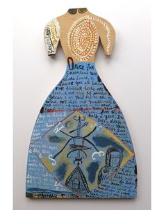 """03 """"Greenland Bound"""" by Jonny Hannah (hand painted cut out ply) Artist Workshop, Paper Dresses, Funky Art, Royal College Of Art, Don't Panic, Freelance Illustrator, Mark Making, Outsider Art, Shakespeare"""