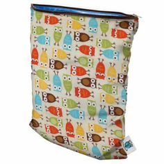 Planet Wise wet bags for cloth diapers have an inner waterproof material and locking zipper that are 100% PVC and lead free.