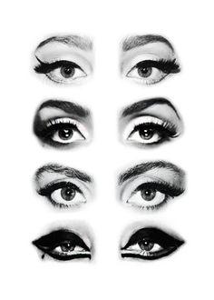 Lady GaGa's eye makeup//Indie Punk Goddess