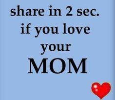 I LOVE U MOM♥♥♥♥♥