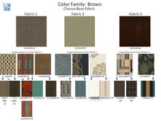 New Rowe fabrics and suggested correlates. *Fabric CC11442-64 is from our Robin Bruce line.