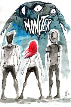 Love this illustration. #paramore #monster
