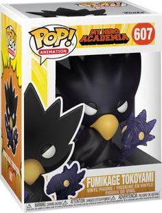 Funko Pop Animation: My Hero Academia - Tokoyami Vinyl Figure 889698429344 Pop Vinyl Figures, Funko Pop Figures, My Hero Academia Merchandise, Anime Merchandise, Funko Pop Toys, Funko Pop Vinyl, Daddy Yankee, Funko Pop List, Funko Pop Anime