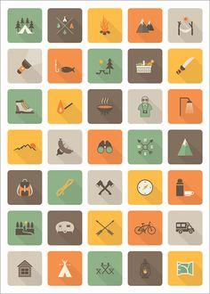 キャンプ道具 アイコン Web Design, Flat Design Icons, App Icon Design, Logo Clipart, Medical Icon, Affinity Designer, Ios Icon, Nescafe, Line Illustration