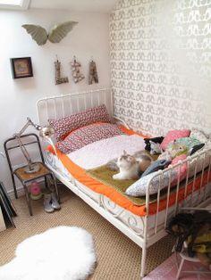 Dormitorios infantiles y juveniles con un look vintage