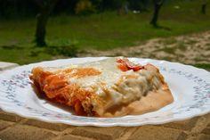 La Cocina de Masito: CANELONES DE CARNE Y PIMIENTO VERDE