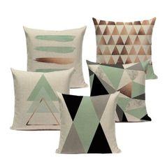 Customable Pillow Cushion Geometric Pillowcases Decorate High Quailty Modern Green Sofa Cushion Cover For Living Room. Category: Home & Garden. Subcategory: Home Textile. Green Cushion Covers, Cheap Cushion Covers, Cushion Cover Designs, Green Cushions, Green Sofa, Sofa Cushion Covers, Blue Pillows, Throw Pillow Covers, Throw Pillows