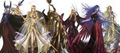 Hilda de Polares, Artemis, Atena, Pallas, Eris e Poseidon (TLC)