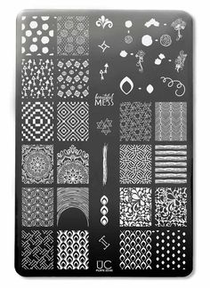 UberChic Nail Stamp Plates - 22-02