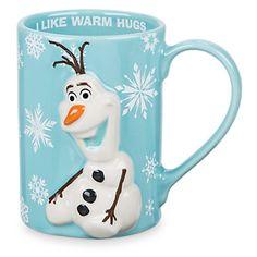 Olaf Mug Disney Olaf, Disney Cups, Walt Disney, Disney Coffee Mugs, Disney Presents, Frozen Christmas, Disney Ornaments, Disney Designs, Paintings