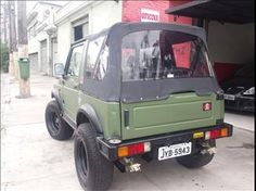 Carro Suzuki-SAMURAI-SUZUKI SAMURAI 1.3 JX CANVAS TOP 4X4 16V GASOLINA 2P MANUAL-1994 - Webmotors