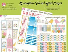 Printable sticker set for Happy Planner Classic. 3 PDFs, with boxes, clipart, flags, washi and more.  Print out on sticker paper, and cut stickers out with scissors, Gyro cutter, craft knife or cutting machine. Alternately, print on plain paper, cut out and adhere with glue or double sided tape.  Note: This is a digital item. No physical product will be shipped.  See my Facebook page at Grandma DiDi Designs for secret coupon codes not shown on Etsy page.  Some graphics for this set are by…