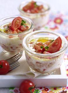 Unser beliebtes Rezept für Eiertöpfchen mit Tomaten und mehr als 55.000 weitere kostenlose Rezepte auf LECKER.de.