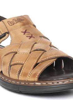 Brown Sandals, Leather Sandals, Ferragamo Shoes Mens, Leather Slippers For Men, Casual Slip On Shoes, Mens Fashion Shoes, Comfortable Sandals, Sandals Online, Designer Shoes