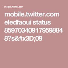 mobile.twitter.com eledfaoui status 859703409179598848?s=09