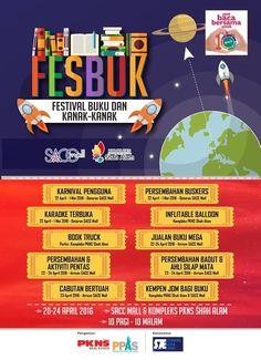 22-24 Apr 2016: SACC Mall FESBUK Kids And Book Fair