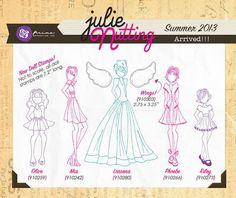 Arrived - NEW Julie Nutting Doll Stamp Set by Prima Marketing