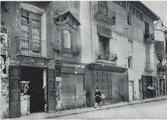 Antigua plaza del Contraste. Ruzafa