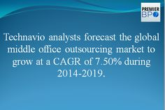 global middle office outsourcing market 2014 2018 Middle office outsourcing allows asset managers to achieve several operational advantages, such as cost savings and more predictable costing covered in this report the technavio report, namely global middle office outsourcing market 2015-2019, is based on an in-depth market analysis, with.