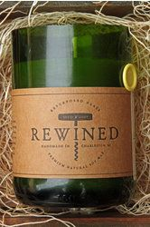Rewined Wine Candle in Chardonnay