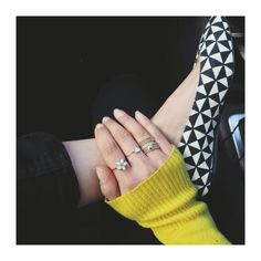 Ring candy #isabelmarant #geometric #mialia #stackablerings #styleinspo