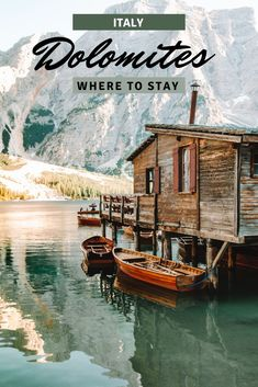 A guide on where to stay in the Dolomites, Italy! The best regions for summer hikes, great restuarants, and the best hotels in the Dolomites! #Dolomites #Dolomiti