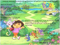 Dora party map invite