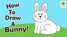 Learn to draw with your kids step by step. This time we learn to draw a cute bunny.