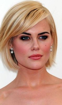 wonderful-useful-tips-women-hairstyles-for-round-faces-products-bun-hairstyles-how-to-do-funky-hairstyles-fun-messy-hairstyles-waves-women-hairstylesw/ SULTANGAZI SEARCH Layered Bob Hairstyles, Short Bob Haircuts, Hairstyles Haircuts, Funky Hairstyles, Medium Hair Styles, Short Hair Styles, Hair Medium, Bob Styles, Brown Blonde Hair