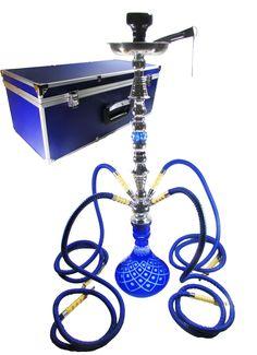 """34"""" Sultan Blue 4 Hose Hookah  $129.99"""
