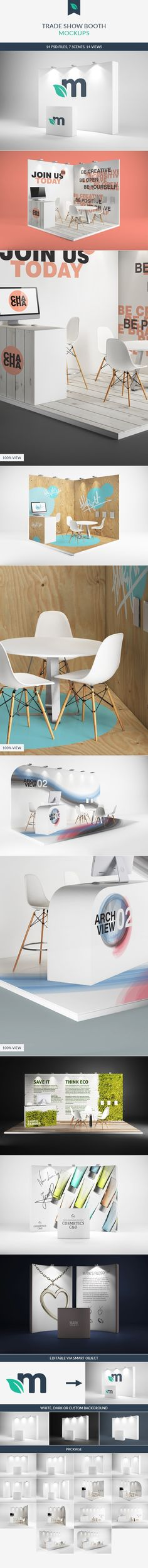 Trade Show Booth/Displays Mockups on Behance