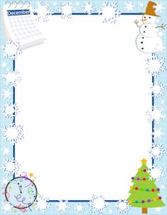 Free december border templates including printable border paper and clip art versions. Christmas Boarders, Free Christmas Borders, Christmas Frames, Blue Christmas, Christmas Stocking, Page Boarders, Boarders And Frames, Printable Frames, Presentation Backgrounds